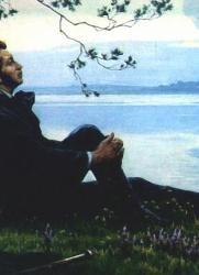 Конкурс пейзажной живописи «Пушкин. Времена года» постер плакат