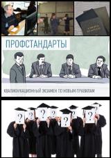 """Бизнес-завтрак """"Профессиональные экзамены: право или обязанность работодателя?"""" постер плакат"""
