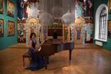 VI Молодёжный фестиваль искусств «Зелёный шум». Сольный концерт Екатерины Мечетиной (фортепиано, Москва) постер плакат