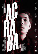 20/10 CHECKPOINT: AGRABA / B-Day TOSHIC постер плакат