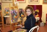 Творческая встреча с художником Натальей Горда постер плакат