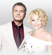 Концерт Анжелики Варум и Леонида Агутина постер плакат