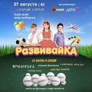 РАЗВИВАЙКА постер плакат