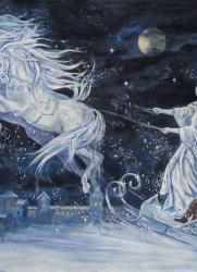 Видеотрансляция сказки с оркестром «Снежная королева». Всероссийский виртуальный концертный зал постер плакат