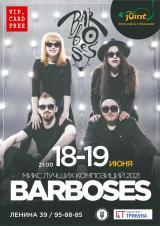 Концерт кавер-группы «Barboses» (Екатеринбург) постер плакат