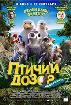 Птичий дозор постер плакат