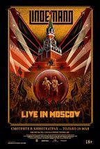 Lindemann: Live in Moscow постер плакат