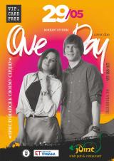 "Акустический кавер-дуэт ""OneDay"" постер плакат"