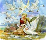 Видеотрансляция сказки с оркестром «Дикие лебеди». Всероссийский виртуальный концертный зал постер плакат