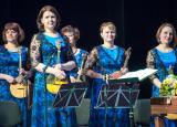 Премьера праздничной концертной программы «Лапти-шоу». Оркестр «Былина» постер плакат