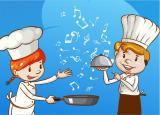 Премьера концертной программы для детей «Музыкальная кулинария» в исполнении солистки Сургутской филармонии Венеры Батыршиной постер плакат