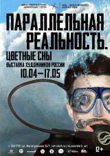 """Выставка российских художников """"Параллельная реальность. Цветные сны"""",12+ постер плакат"""