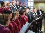 Концертная программа «Песни нашего века» в исполнении хоровой капеллы «Светилен» постер плакат