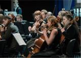 Премьера концертной программы «Вечер с симфоническим оркестром» в исполнении Симфонического оркестра Сургутской филармонии постер плакат