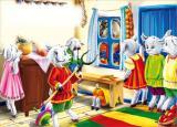 Музыкальная сказка «Волк и семеро козлят на новый лад» в исполнении камерного оркестра русских народных инструментов «Былина» постер плакат