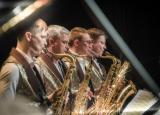 Премьера концертной программы «Все лучшее сразу» в исполнении концертного оркестра духовых инструментов «Сургут Экспресс-Бэнд» постер плакат