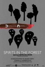 Depeche Mode: Spirits in the Forest постер плакат