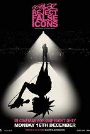 Gorillaz: Долой фальшивых идолов постер плакат