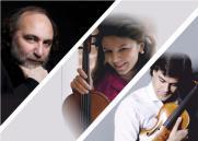 Концерт трио CHAMBER MUSIC STARS постер плакат