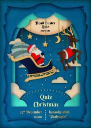 Christmas Quiz постер плакат