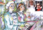 Концертная программа для детей «Игра в классики». Хоровая капелла «Светилен» постер плакат