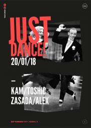 20/01/18 JUST DANCE постер плакат