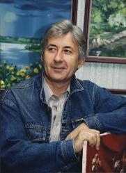 Выставка Жоржа Кочеткова «Пейзажи Сибири. Времена года»  постер плакат