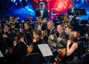 Премьера концертной программы «Новый год с симфоническим оркестром». Симфонический оркестр постер плакат