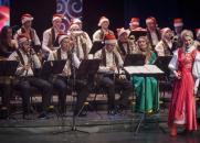 Праздничный фарс-мажор «Новый год вызывали?». Оркестр «Сургут Экспресс-Бэнд» постер плакат